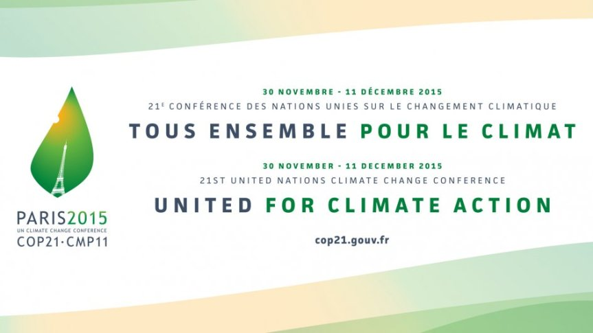 L'heure de la COP 21 estarrivée!