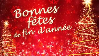 Bonne fêtes de fin d'année à toutes ettous!