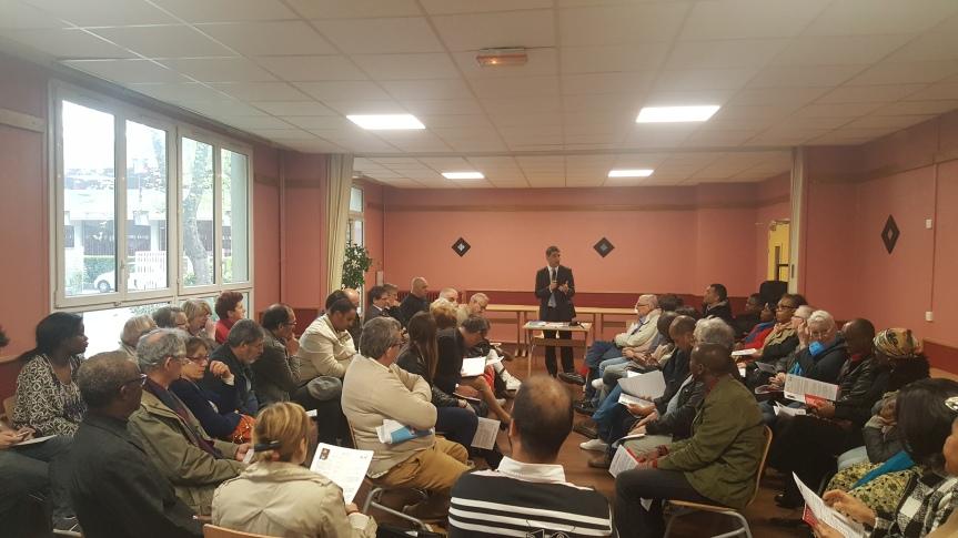 Une réunion publique d'un grand intérêt menée par ledéputé!