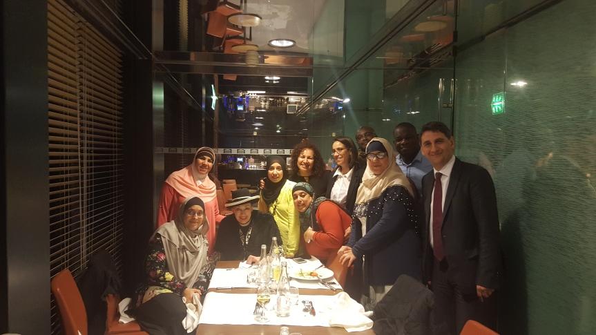 Le député invite les gagnantes du concours « Aulnay chef » à un repas à l'Assemblée nationale!