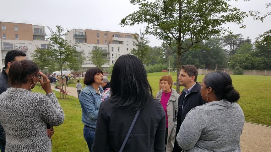 Une inauguration du Parc Félix Fessard « aux petits oignons»