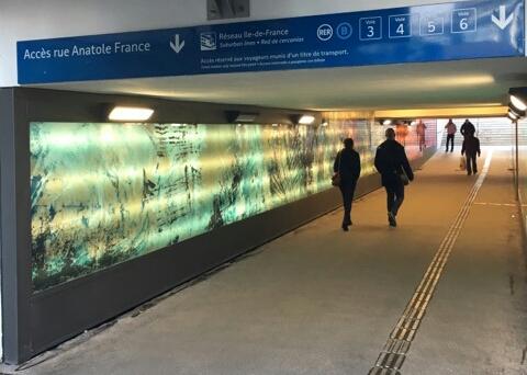 Inauguration du souterrain : B. BESCHIZZA , le champion de la récup'!