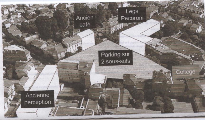 Place Camélinat: le super bétonnage du maire continue….