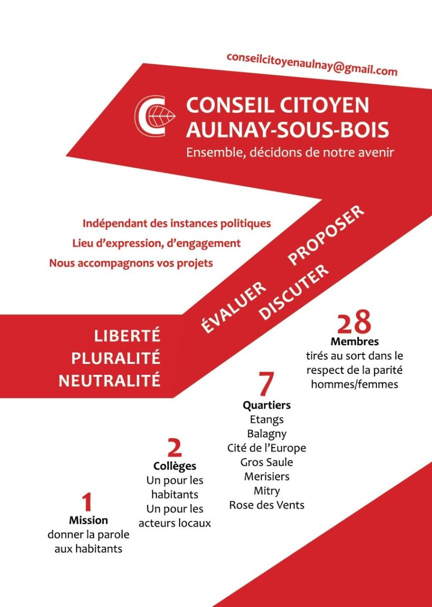Le Conseil citoyen d'Aulnay lance le Fond de participation deshabitants