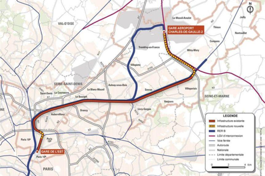 CDG Express: pour l'abandon du projet, priorité aux transports duquotidien.