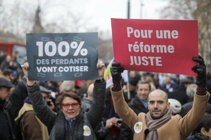 Réforme des retraites: NON à la réforme MACRON ! OUI à une réformeJUSTE
